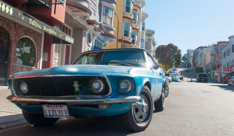 San Francisco Mustang